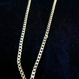 MICRO CUBAN LINK CHAIN 18K GOLD MADE IN ITALY